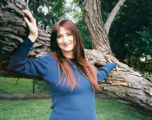 In 2003, in my red-haired wig.