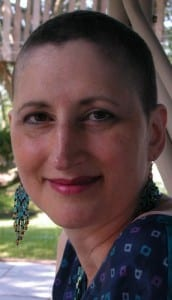 My hair was growing back after chemo.