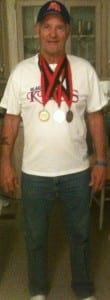 At the 2012 Huntsman World Senior Games, Warren won a gold medal in softball as well as a silver and bronze in racquetball.